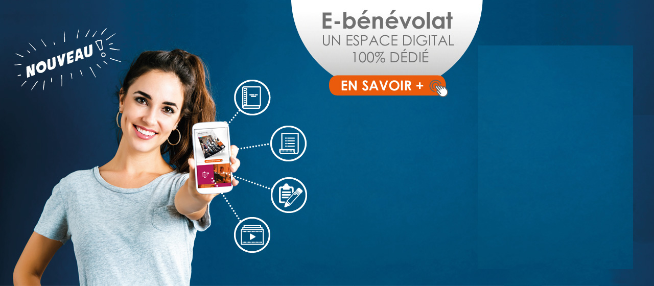 E-bénévolat espace digital