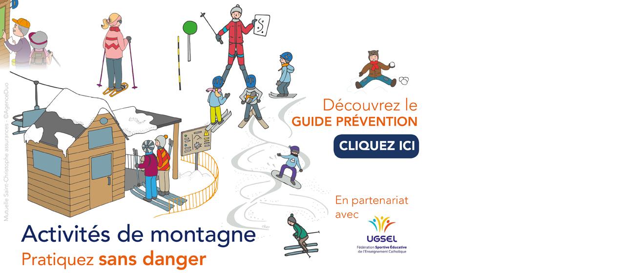 Guide prévention activités de montagne