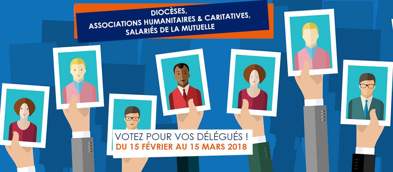 Bannière élection des délégués 15 Fev au 15 Mars