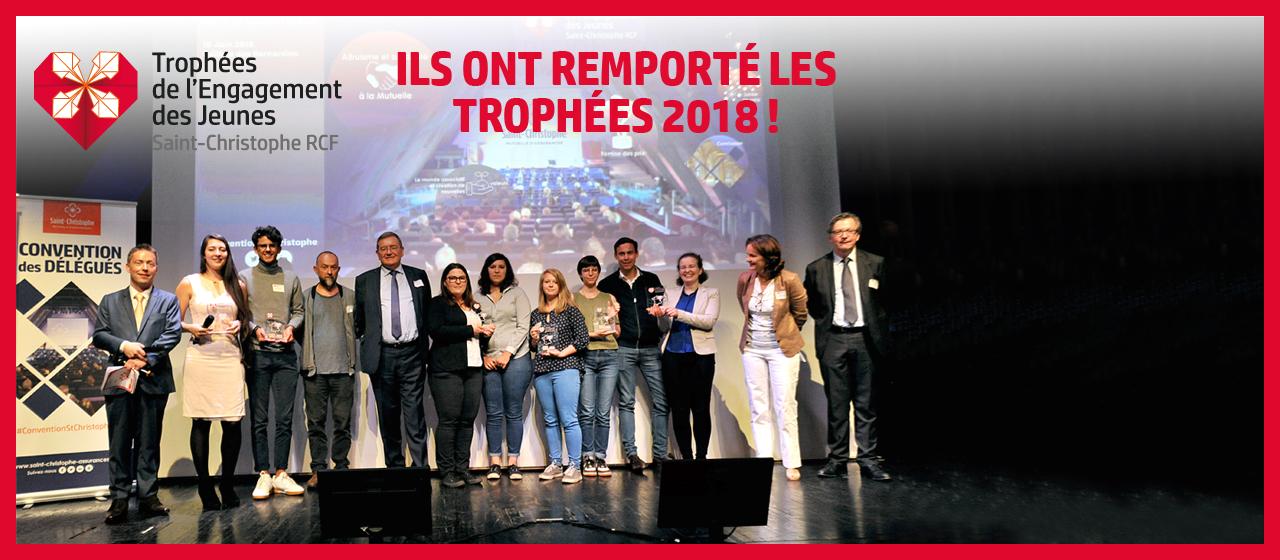 Trophées de l'Engagement 2018 : Découvrez les gagnants lauréats de l'édition 2018 !