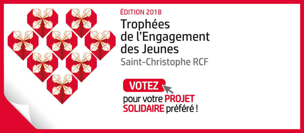 Trophées de l'Engagement 2018 : votez pour votre projet solidaire préféré !