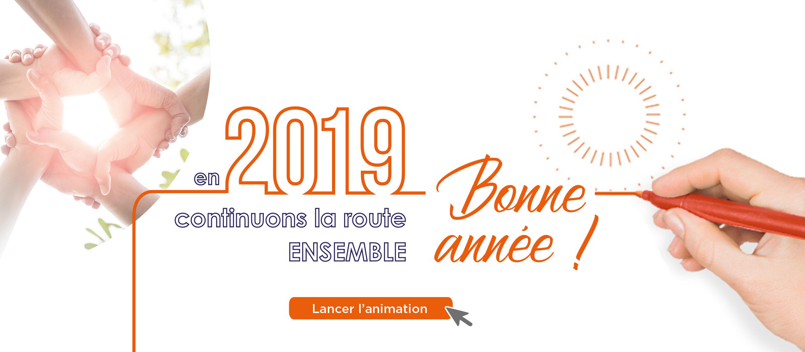 Vœux Saint-Christophe assurances 2019