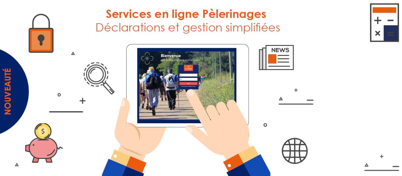 Services en ligne Pèlerinages