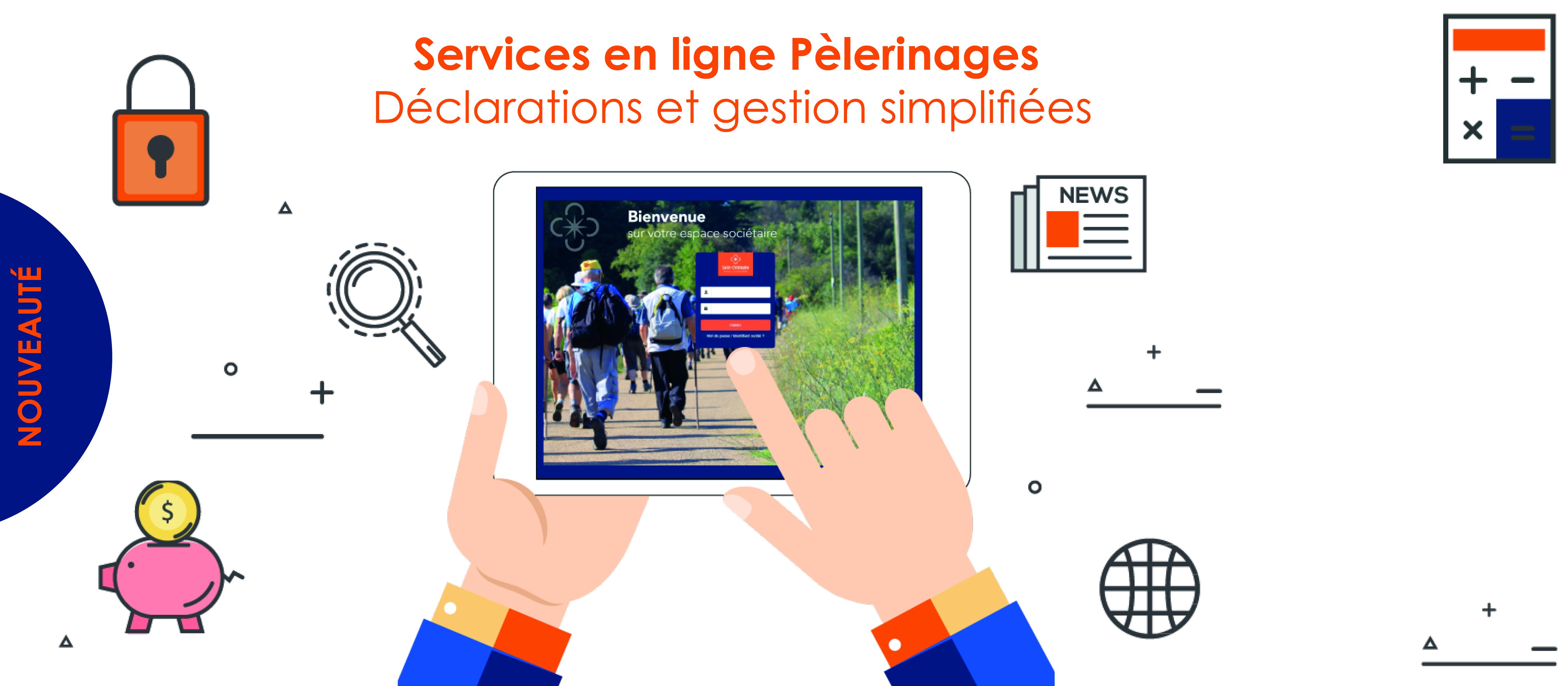 Service en ligne Pèlerinages