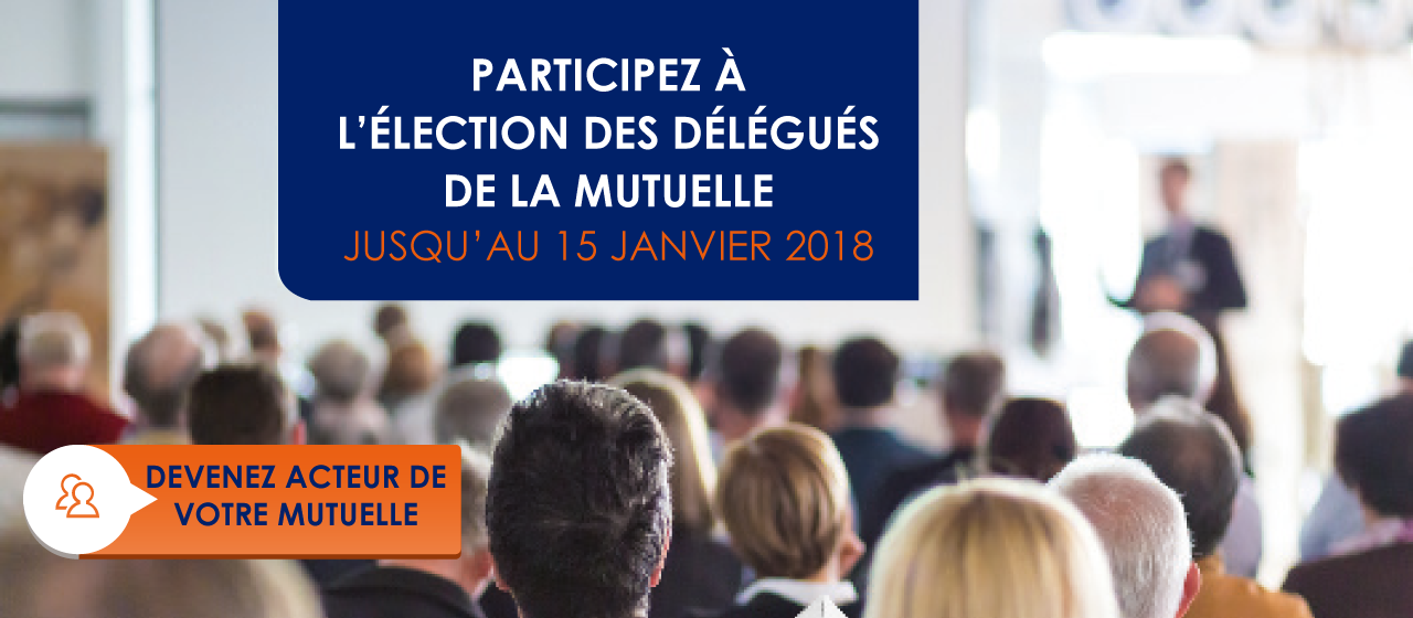 Election des délégués mutualistes