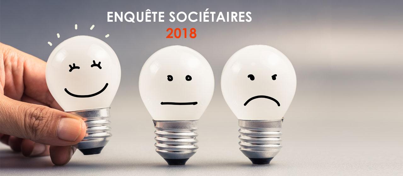 Enquête sociétaires 2018