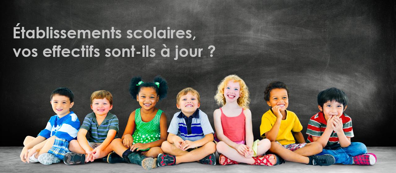Régularisation effectifs rentrée scolaire
